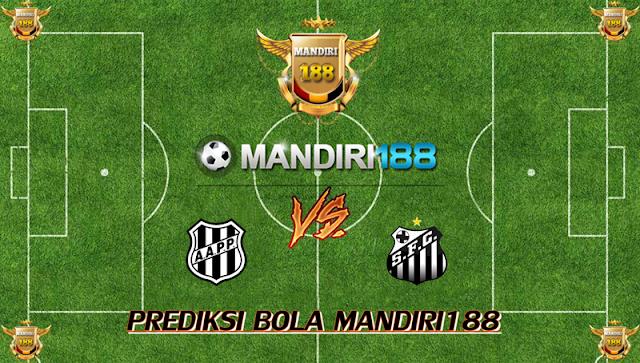 AGEN BOLA - Prediksi Ponte Preta vs Santos 13 Oktober 2017