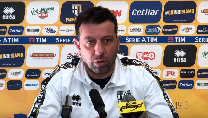 Parma Inter, la conferenza stampa di D'Aversa