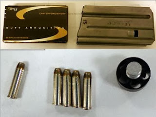 Top to Bottom: Ammo Discovered at LGB and MEM