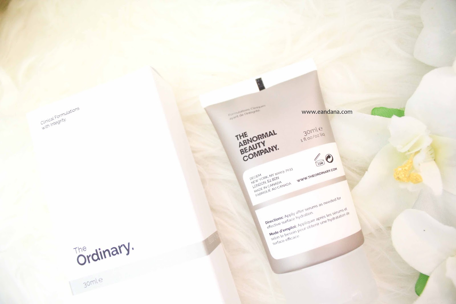 The ordinary Natural Moisturizing Factors HA
