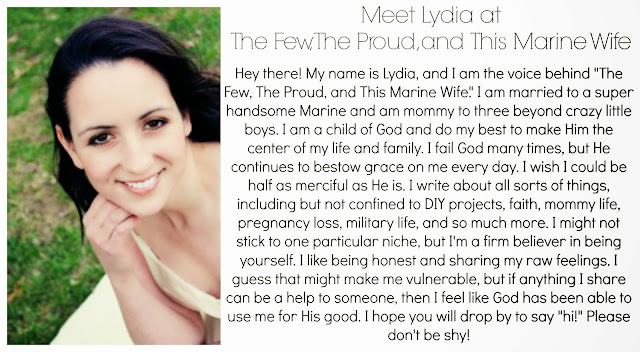 Lydia from The Few, The Proud, and This Marine Wife