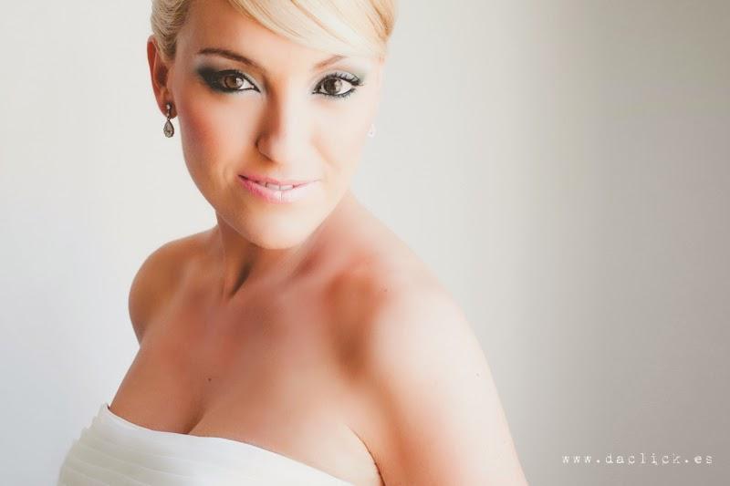maquillaje de Aarón Blanco para la novia