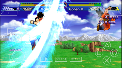 Goku Last Budokai Tenkaichi Android Tanpa PPSPP