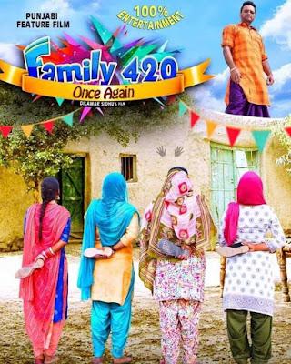Family 420 Once Again 2019 Punjabi 480p WEB HDRip 350Mb
