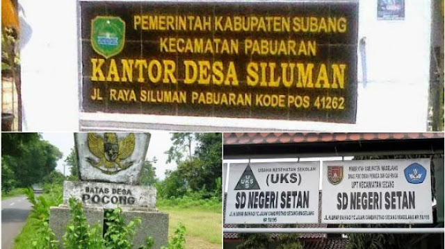 10 Nama Desa Unik, Mulai dari Desa Pocong, Desa Siluman hingga Dusun Setan