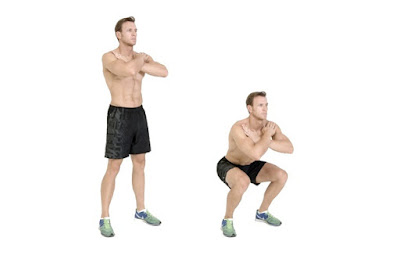 Squat melatih otot tungkai