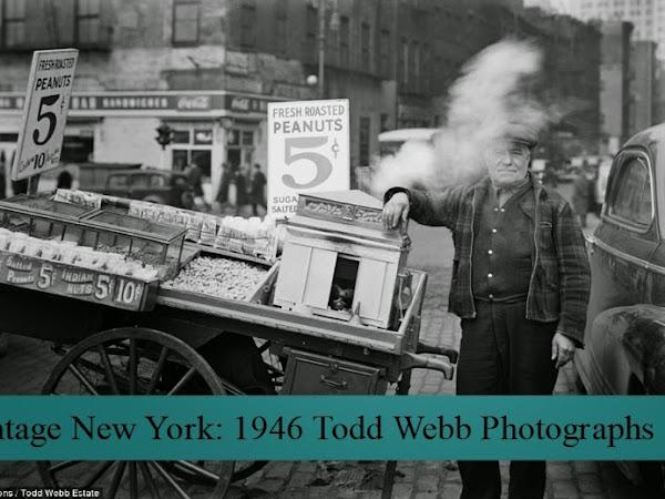 Vintage New York: 1946 Todd Webb Photographs