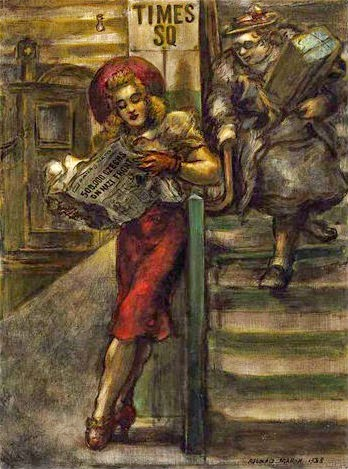 Reading And Art Reginald Marsh