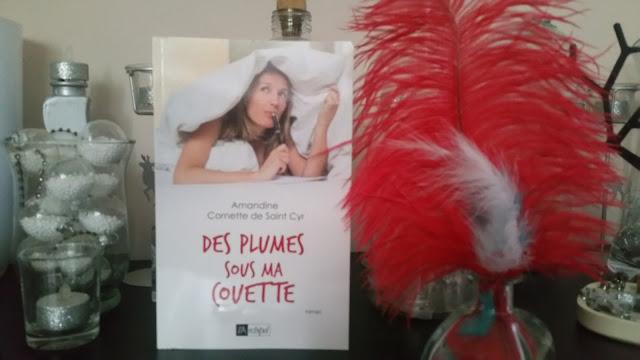 Des plumes sous ma couette Amandine Cornette de Saint Cyr avis chronique