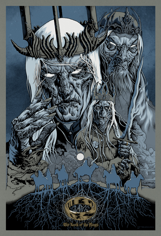 The Geeky Nerfherder: Cool Art: 'The Lord Of The Rings ...