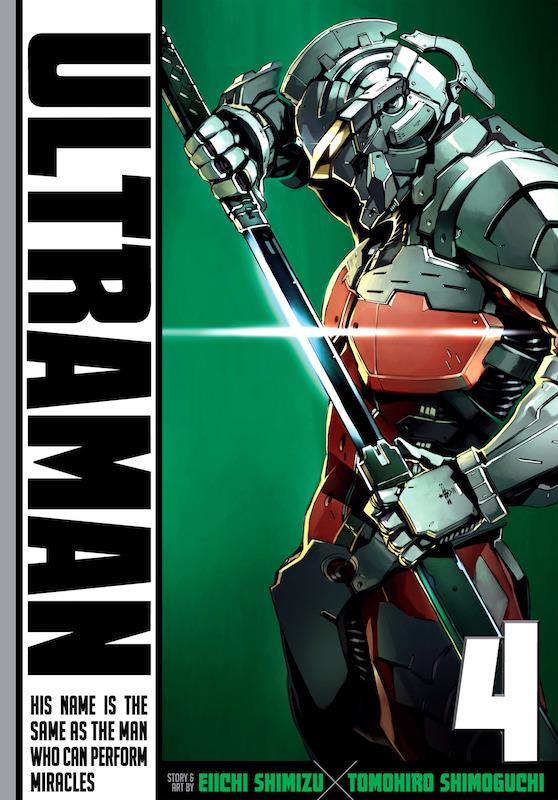 Ultraman Vol. 4, Story: Eiichi Shimizu  Art: Tomohiro Shimoguchi  Ultraman created by Eiji Tsuburaya & Tsuburaya Productions.