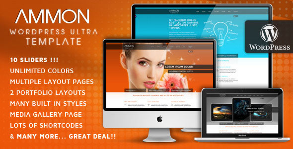 Ammon Wordpress Theme Free Download by ThemeForest.