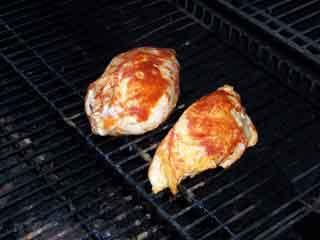 Hot Sauce grilled chicken