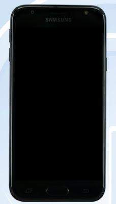 Samsung J3 2017 đạt chuẩn TENAA thiết kế đơn giản - 190531