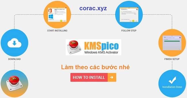 KMSpico kích hoạt bản quyền office