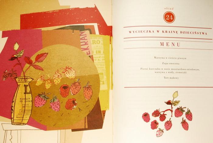 Ostatnie menu i współczesny kolaż Anny Pol