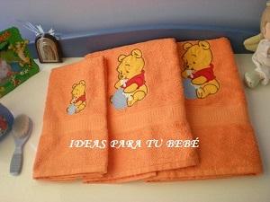 Ideas para tu bebe toallas bordadas infantiles - Toallas infantiles personalizadas ...