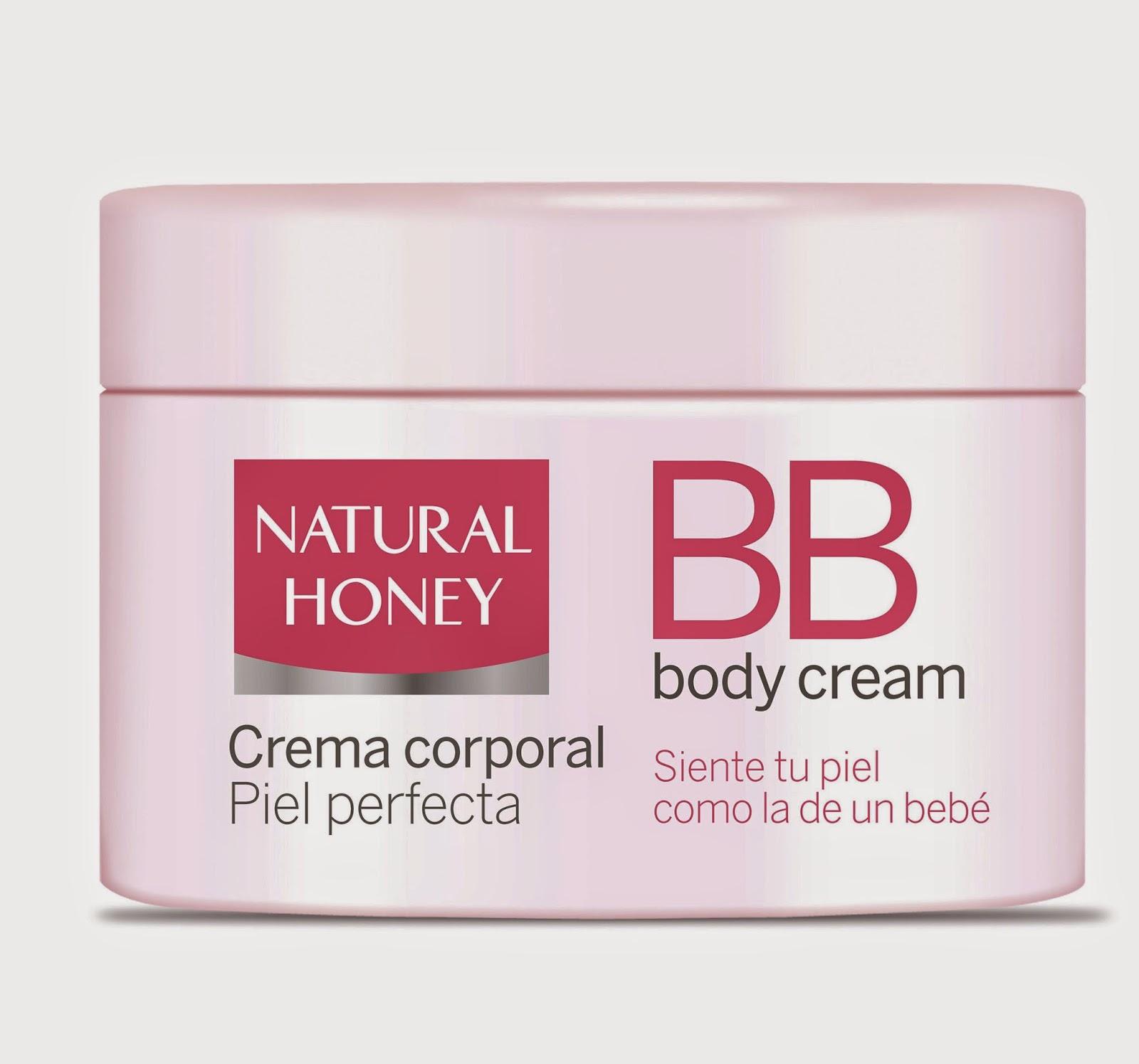 BB Body Cream Natural Honey,
