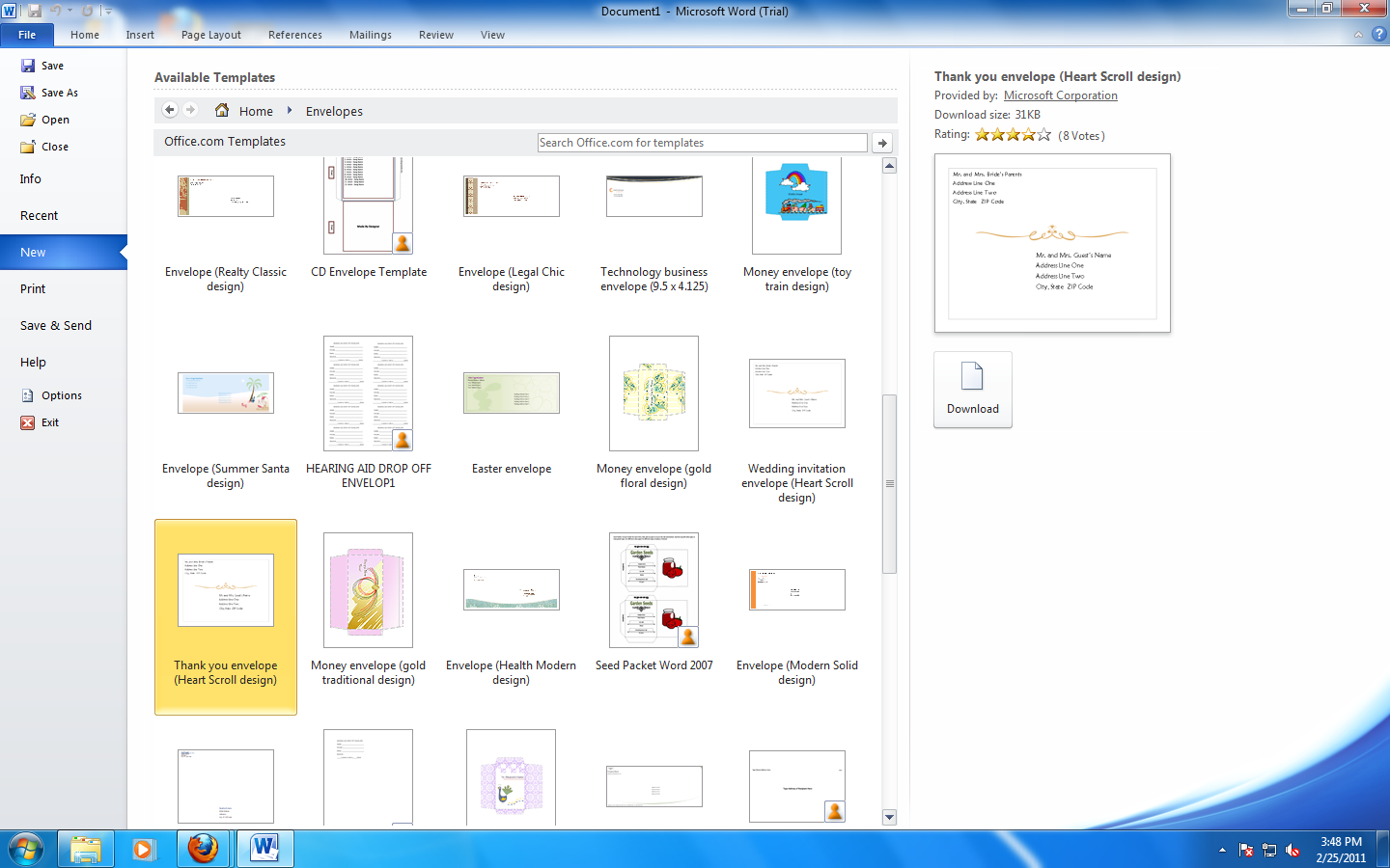 templates for microsoft office