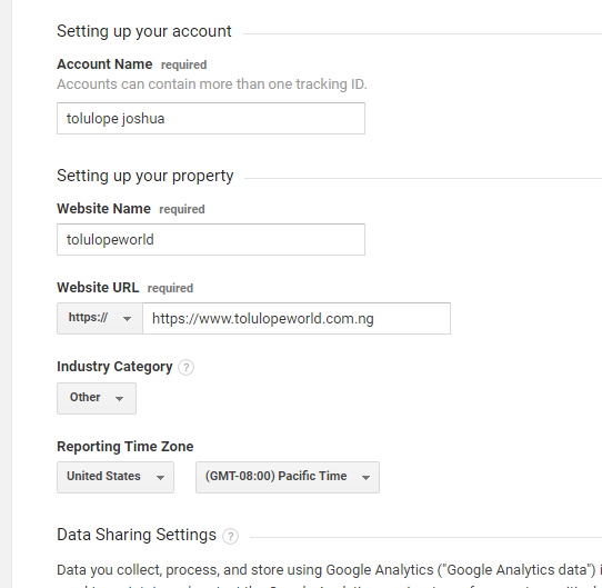 How To Connect Your Blogger Account to Google Analytics