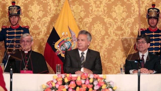 Ecuador retira a su embajador en Caracas ante investidura de Maduro