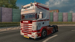 Red Passion mod 1.2 Scania