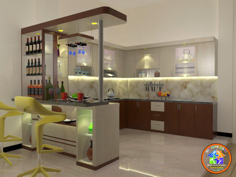 Kitchen Set Minimalis Dan Mini Bar Keluarga Dr Susan Ngadiluwih