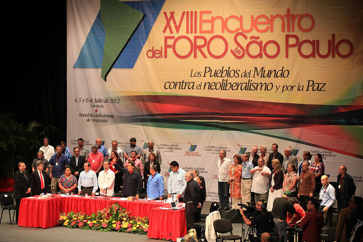 URSAL, Foro de São Paulo, comunismo, bolivarianismo, socialismo, união das repúblicas socialistas da américa latina, pt, conspiração