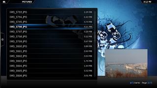 xbmc 11 screenshot