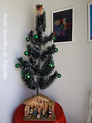 Minha árvore de natal decorada