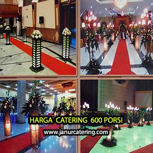Harga Catering Pernikahan Jakarta 600 porsi