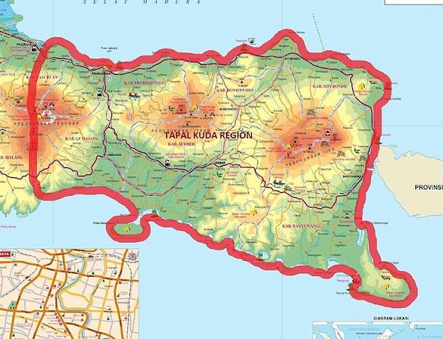 Wisata Daerah Tapal Kuda Jawa Timur