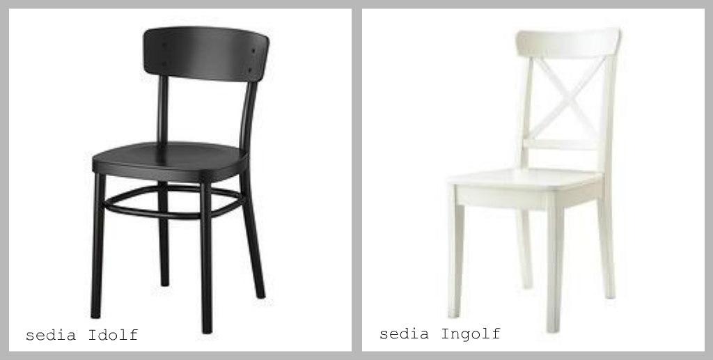 Sedie Rosse Ikea – Idee di immagini di Casamia
