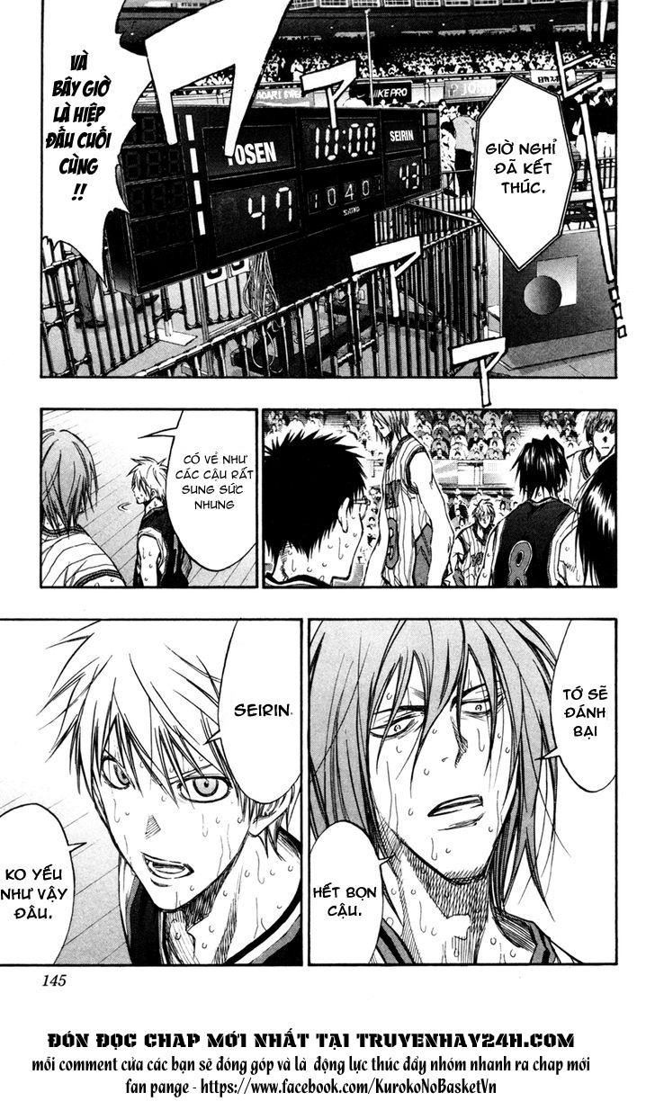 Kuroko No Basket chap 160 trang 16