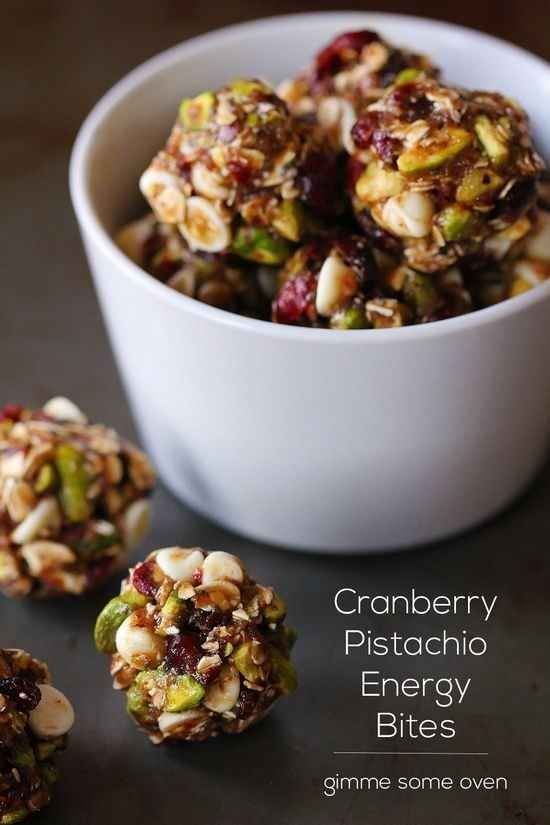 Cranberry Pistachio Energy Bites | 19 Delicious Superfood Combos That You Need To Try