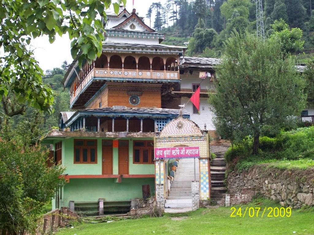 Shringi rishi temple Banjar, Kullu, Himachal pradesh