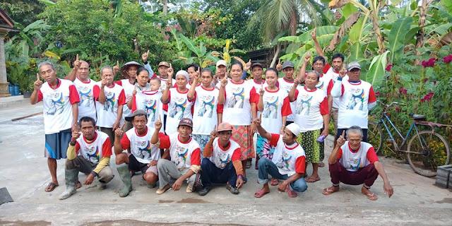 Warga Patimuan Dukung Jokowi Maaruf
