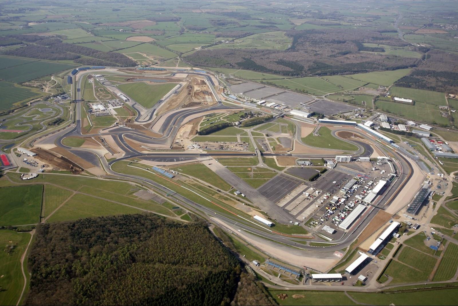 Circuito De Silverstone : Pit wall: previo gp de gran bretaña: así es el trazado de silverstone