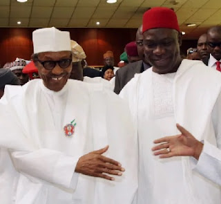 Buhari Honours Ekweremadu At Book Launch