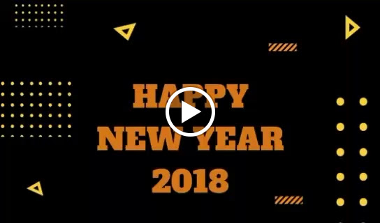 Happy New Year 2018 GIF
