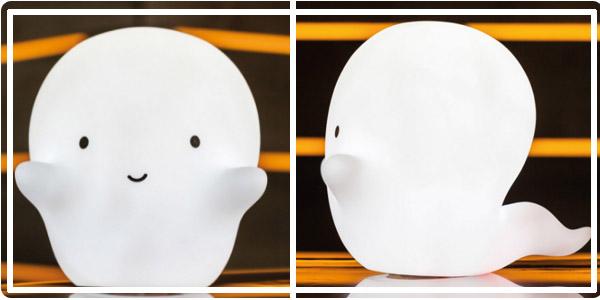 Lampe fantôme de Pac-Man