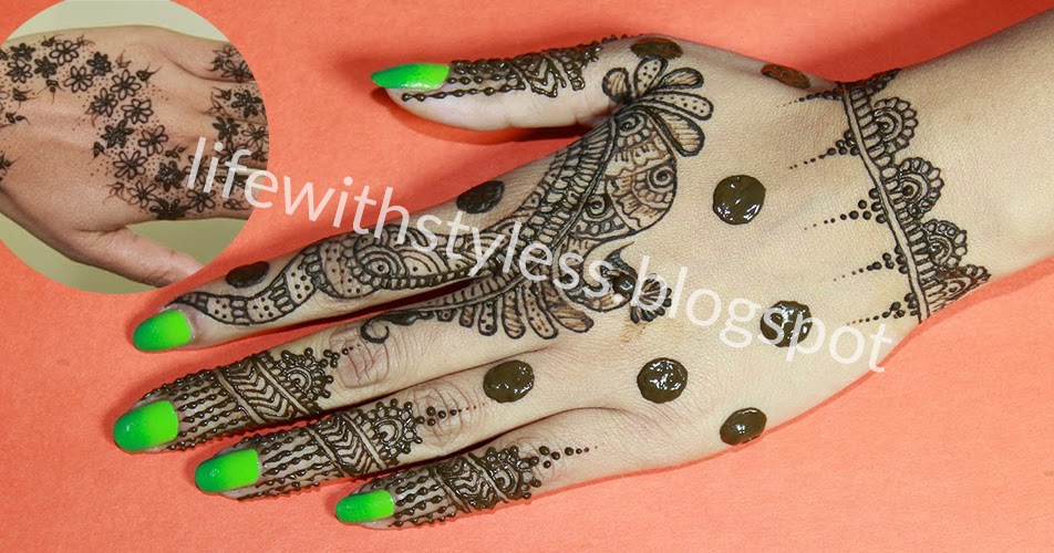 How To Draw Beautiful And Simple Henna Design At Home Life With Styles