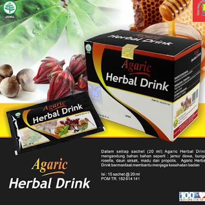 Agaric Herbal Drink 100 % Alami Sudah BPOM