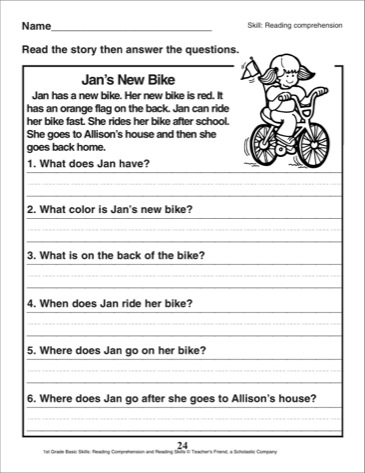 Printables Free Comprehension Worksheets For Grade 2 grade 2 reading comprehension worksheets free scalien worksheets