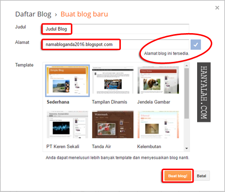 Cara custom domain blogspot