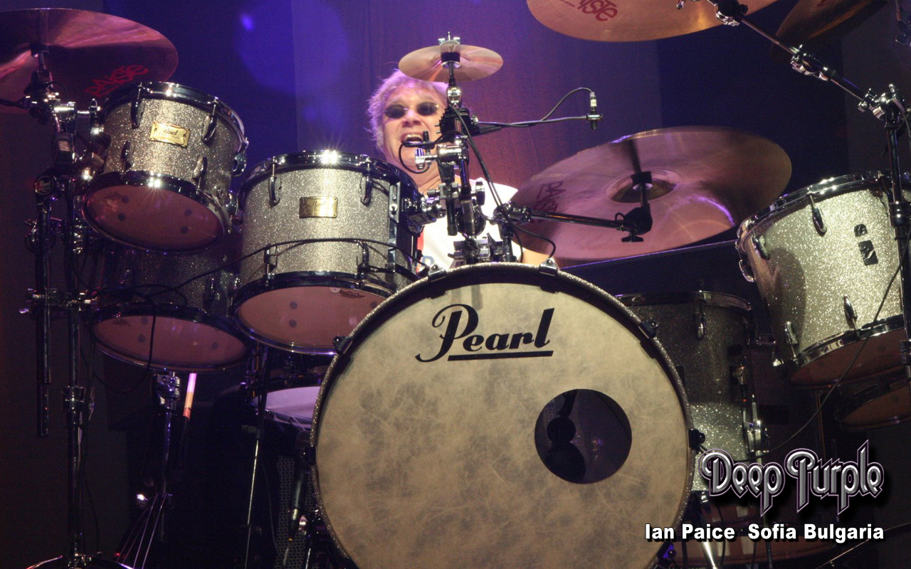 Ian Paice Rock Star Picture