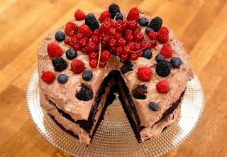 Arda'nın Mutfağı Orman Meyveli Anne Pastası