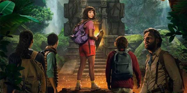Dora y la ciudad perdida, trailer