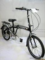 3 Sepeda Lipat Viva Hawk 6 Speed 20 Inci