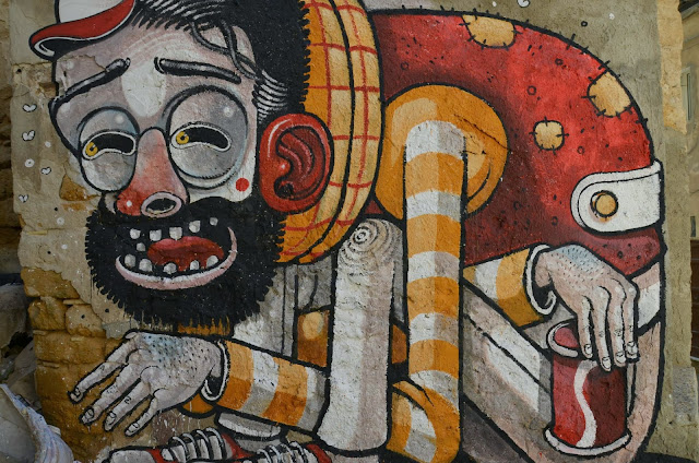 """Trash Only Salvation"" New Street Art Piece By Mr Thoms In Sicily, Italy. 6"